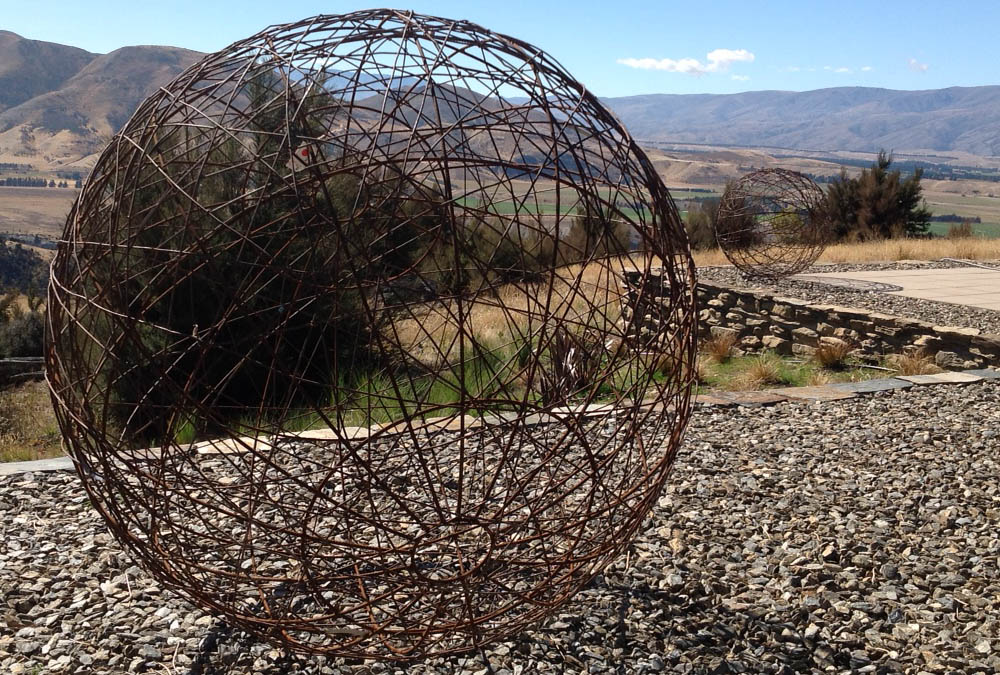 made from recycled wire