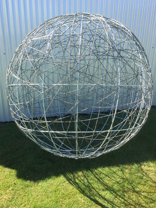 galvanized wire ball
