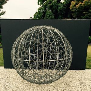 1m galvanized barbed wire ball