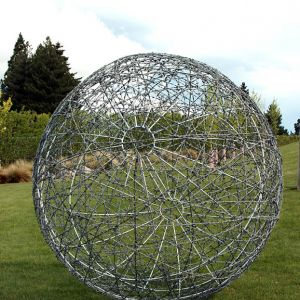 1.5m galvanized barbed wire ball