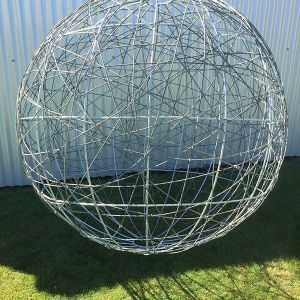 1.5m galvanized plain wire ball
