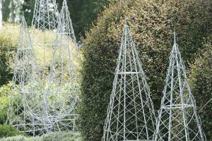 galvanized plain wire trees