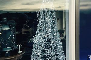 galvanized plain wire tree
